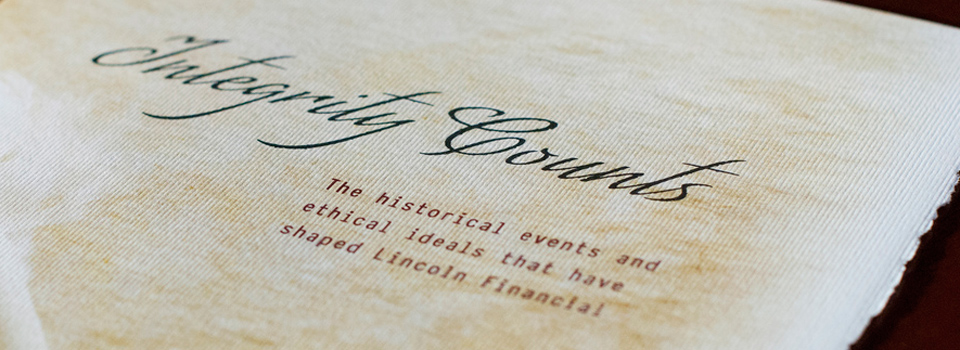 History of Lincoln Financial Brochure